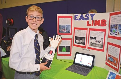 PC Student Solving Problems With Innovation and Technology